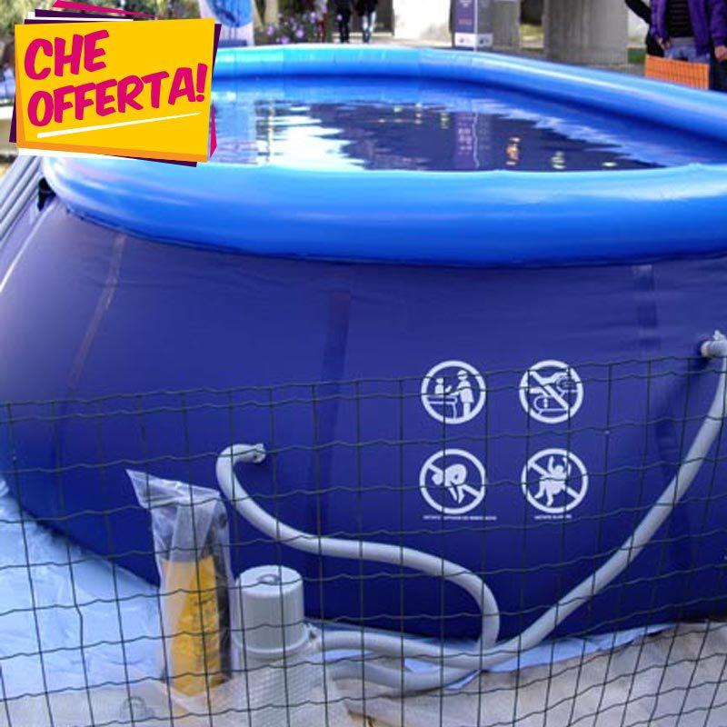 Offerta piscina fuori terra san marco gold 732x366x122 cm - Piscine fuori terra san marco ...