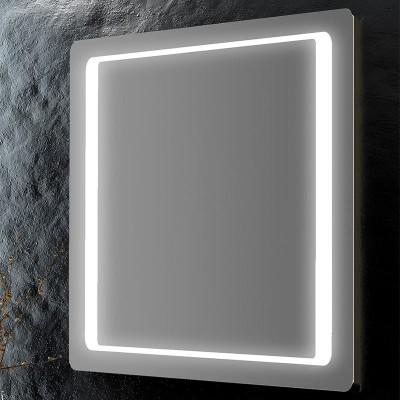 Specchio da bagno angoli arrotondati retroilluminato led for Specchio bagno retroilluminato
