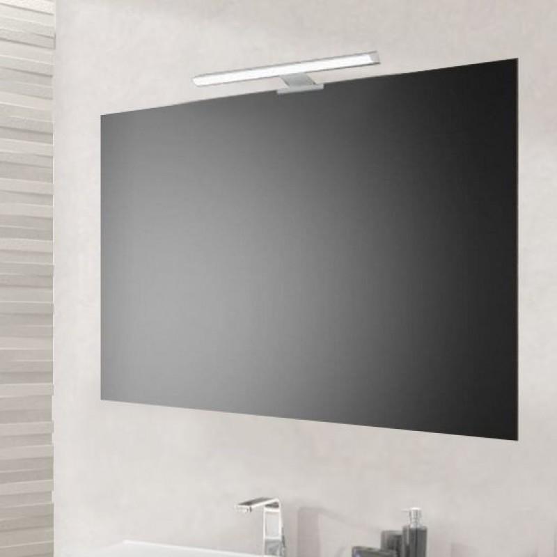 Specchio bagno 90x60 cm economico con lampada led san marco for Specchio bagno brico