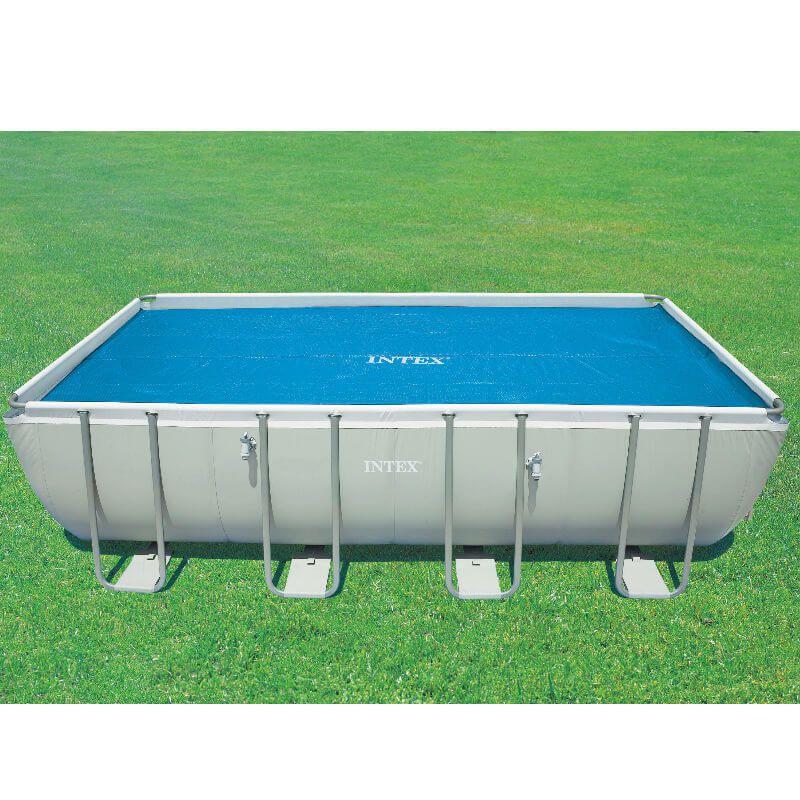 Copertura isotermica per piscine rett 7 32 x 3 66 san marco for Teli invernali per piscine intex