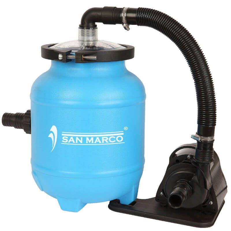 Filtro a sabbia con aqualoon senza valvola selettrice san marco - Filtro piscina a sabbia ...