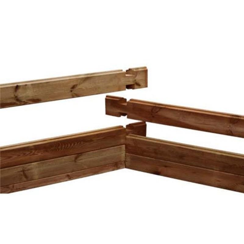 Piscina fuori terra legno vermela 672x472x146h cm san marco - Piscine san marco ...