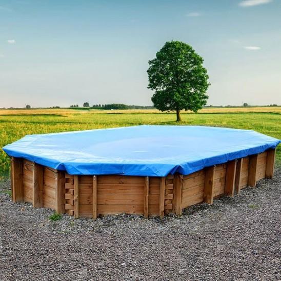 Antialghe per piscina gre in tanica da 25 lt san marco for Copertura invernale piscina gre