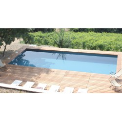Piscina interrata rettangolare 7x3 con accessori