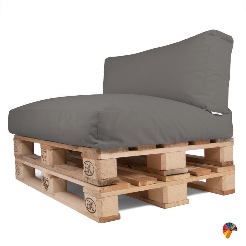 Divani con bancali fabulous come costruire un letto con pallet riciclati progetto totalmente - Divano da interno con pallet ...