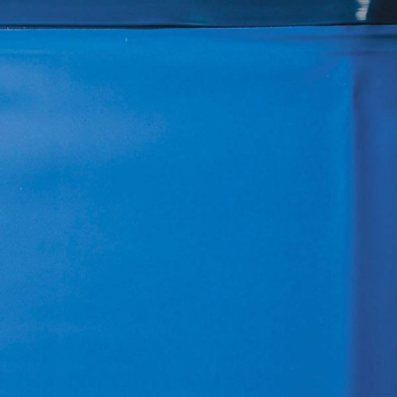 Liner azzurro per piscina ovale in legno gre sevilla san for Liner per piscine
