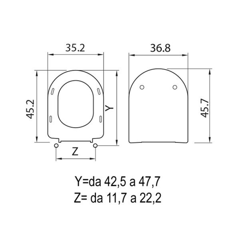 Copriwater compatibile ideal standard serie esedra san marco for Copriwater ideal standard esedra