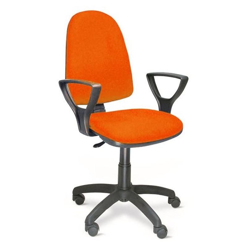Sedie Da Ufficio Arancione.Poltrona Ufficio Direzionale In Tessuto Toria Arancio San Marco