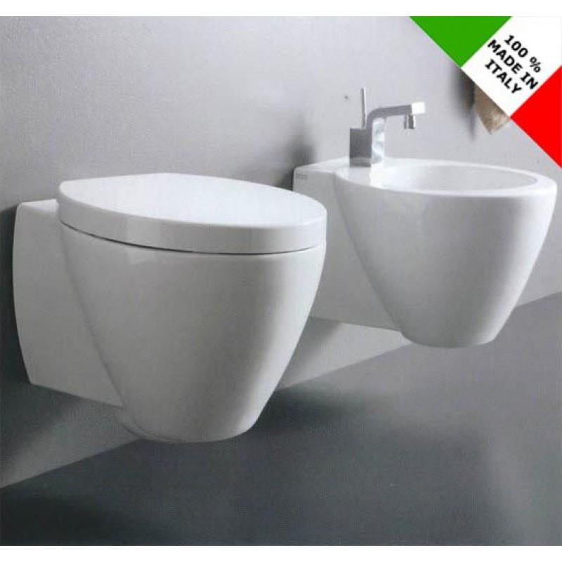 Sanitari bagno sospesi azzurra ceramica full 54 san marco - Sanitari bagno sospesi ...