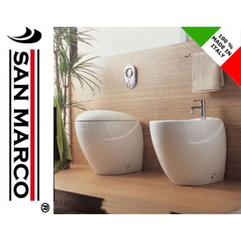Sanitari In Ceramica Per Bagno.Sanitari Bagno Da Appoggio Azzurra Ceramica Clas 05 San Marco