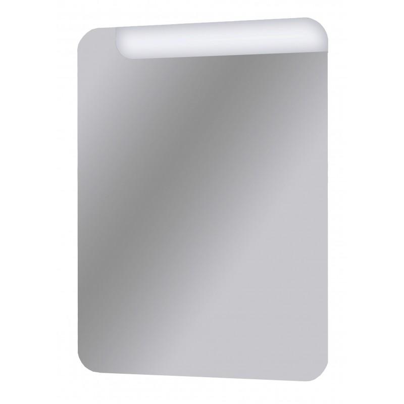 Specchio Bagno Design con taglio led 75x55 Cm | San Marco
