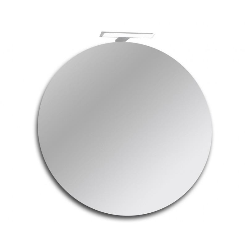 Specchio Bagno 60 X 60.Specchio Bagno Con Lampada Led Diametro 60x60 Cm San Marco