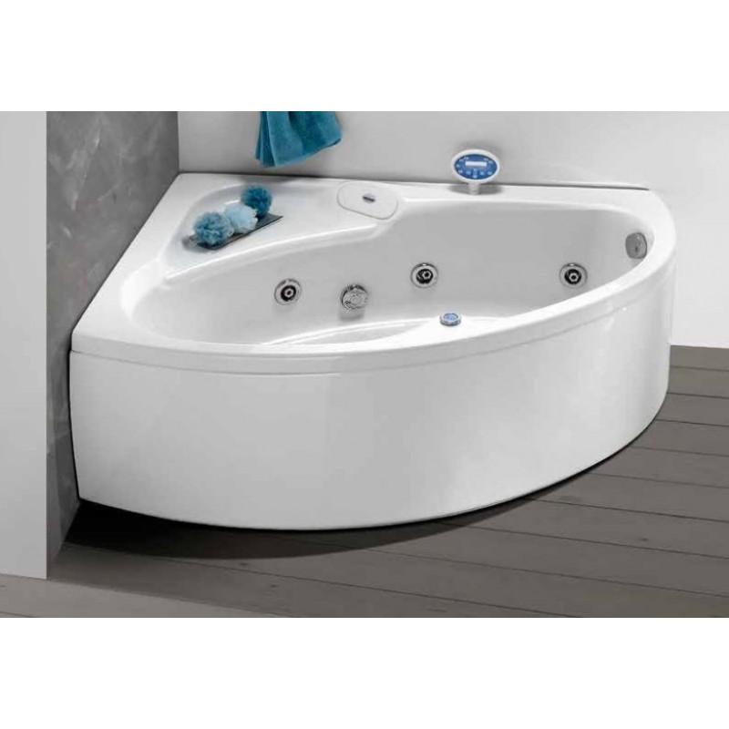 Vasca da bagno idromassaggio angolare 150x100 cm | San Marco