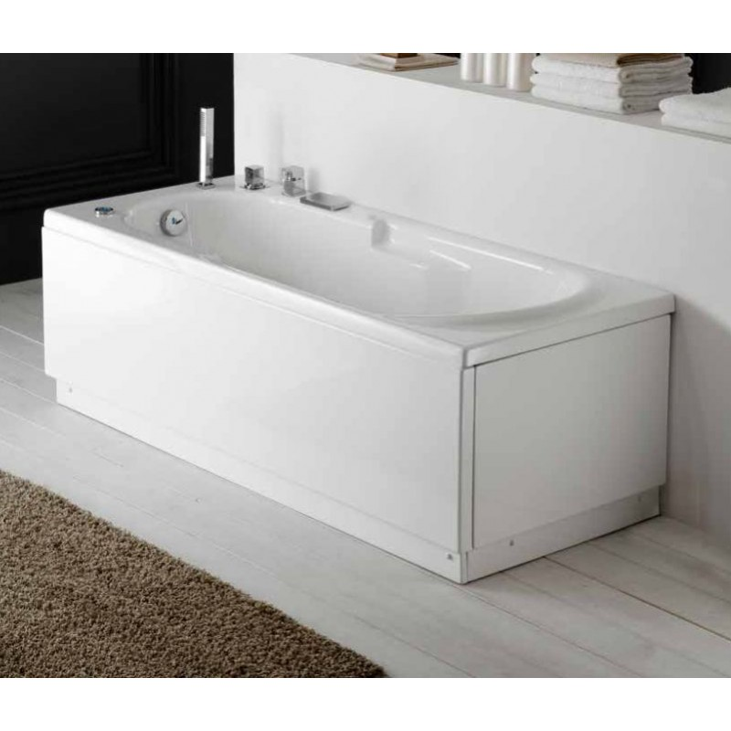Vasca da bagno rettangolare 170x70x55 cm san marco - Ricoprire vasca da bagno ...
