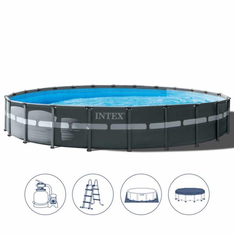 come si fa a collegare un vuoto a una piscina sopra terra