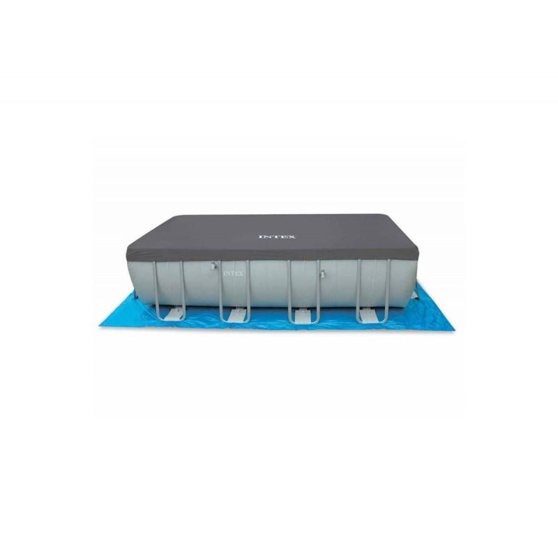 copripiscina piscina rettangolare intex 28352 26352 san. Black Bedroom Furniture Sets. Home Design Ideas