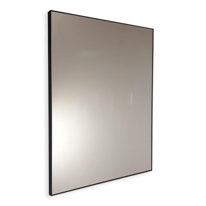Specchio Bagno Nero.Specchio Bagno Su Misura Con Cornice Perimetrale Nera