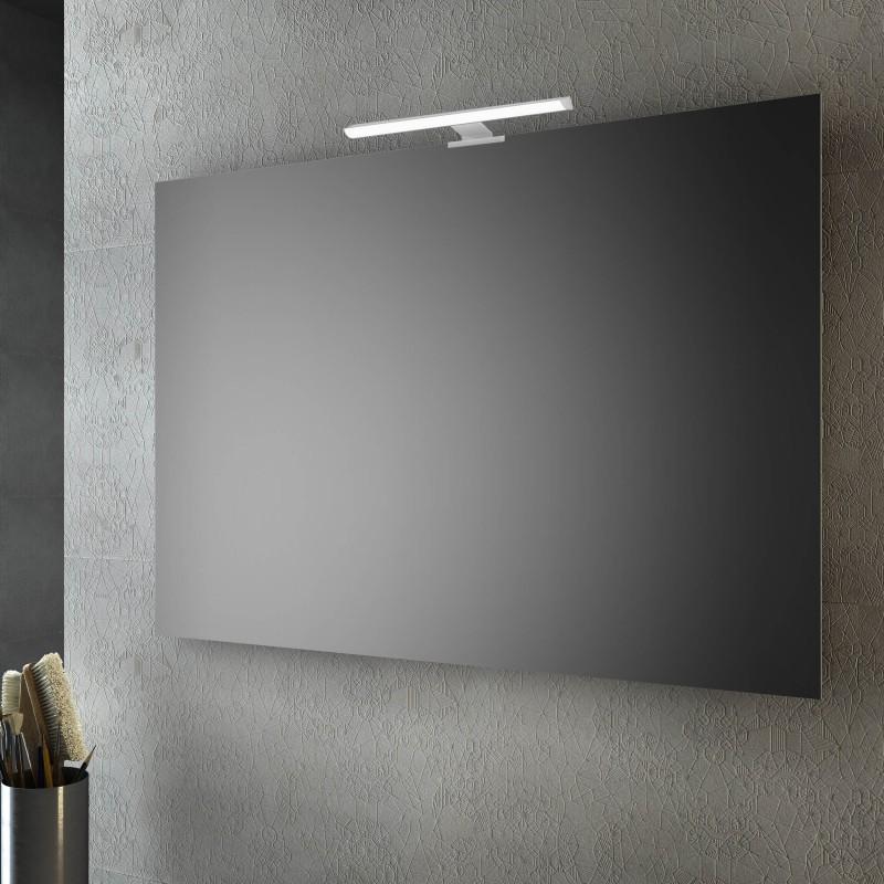 Specchio Bagno Contenitore Led.Specchio Bagno Senza Cornice 100x80 Cm A Led San Marco