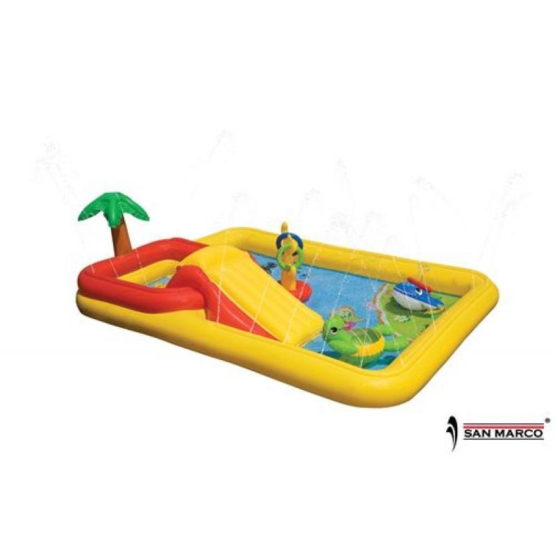 Piscina gonfiabile per bambini ocean play intex san marco - Intex piscina gonfiabile ...