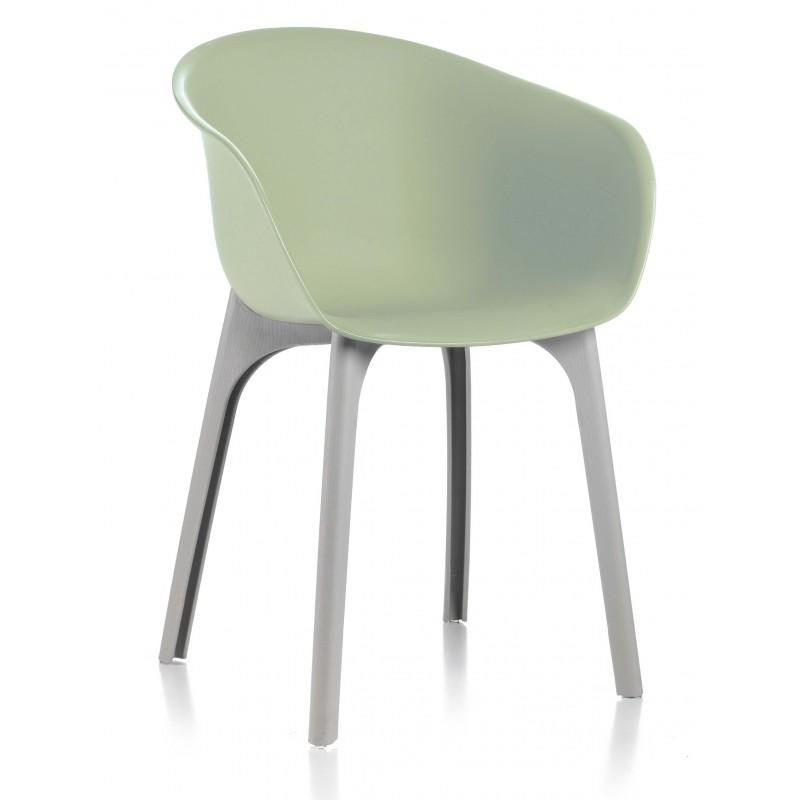 Sedie Da Esterno Design.Coppia Di Sedie Divina Colore Verde Chiaro Da Design San Marco