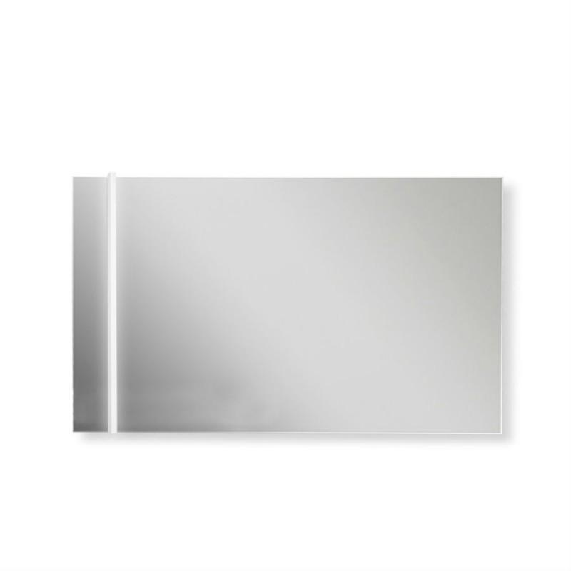 Specchio Bagno Con Lampada.Specchio Bagno 100x70 Cm Filo Lucido Con Lampada Led San Marco
