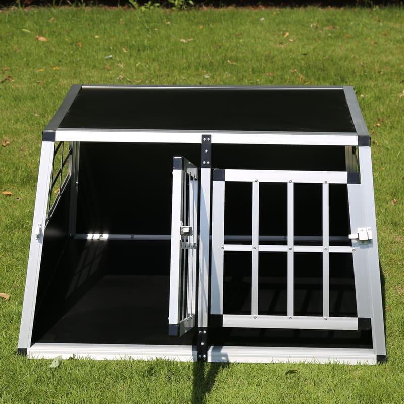 Box per 2 Cani da Cofano Auto con divisorio