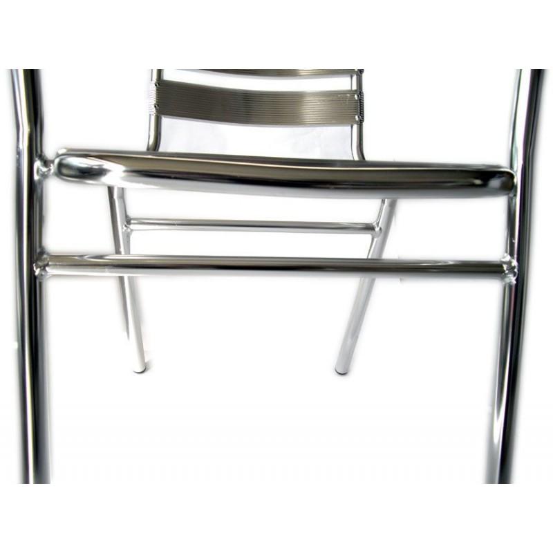 Sedia bar in alluminio per arredamenti esterni san marco for Arredamenti x esterni