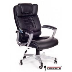 Poltrona Ufficio massaggiante Break work nera