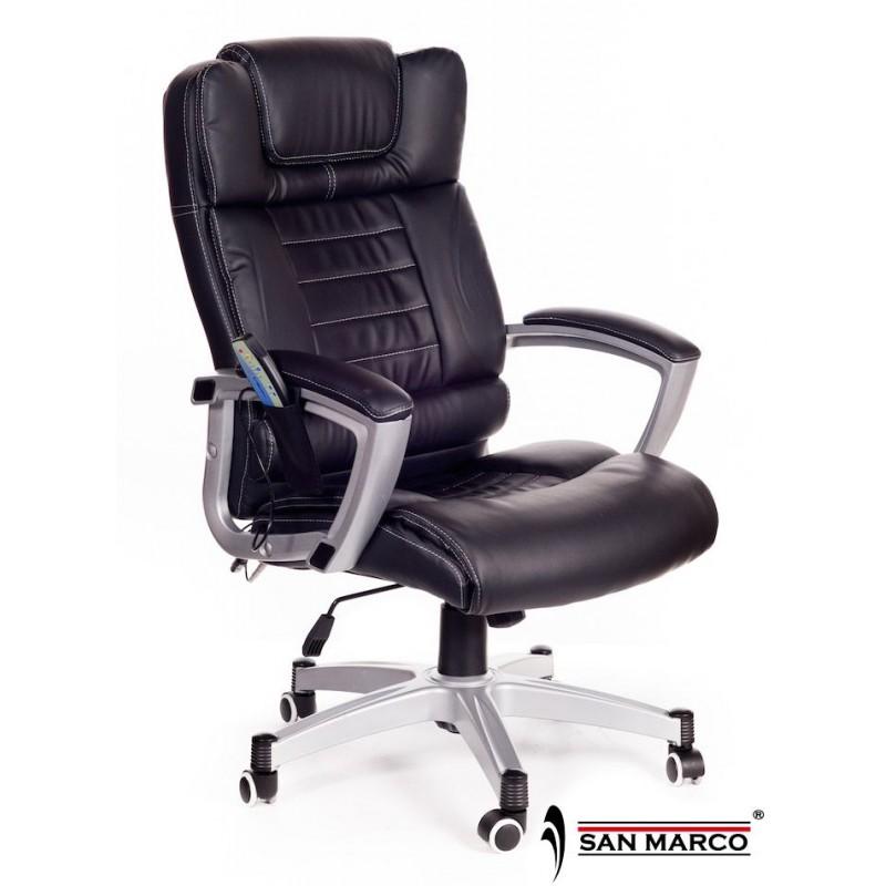 Poltrona Ufficio massaggiante Break work nera | San Marco