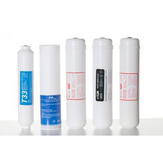 Kit filtri ricambio per depuratore osmosi inversa  San Marco