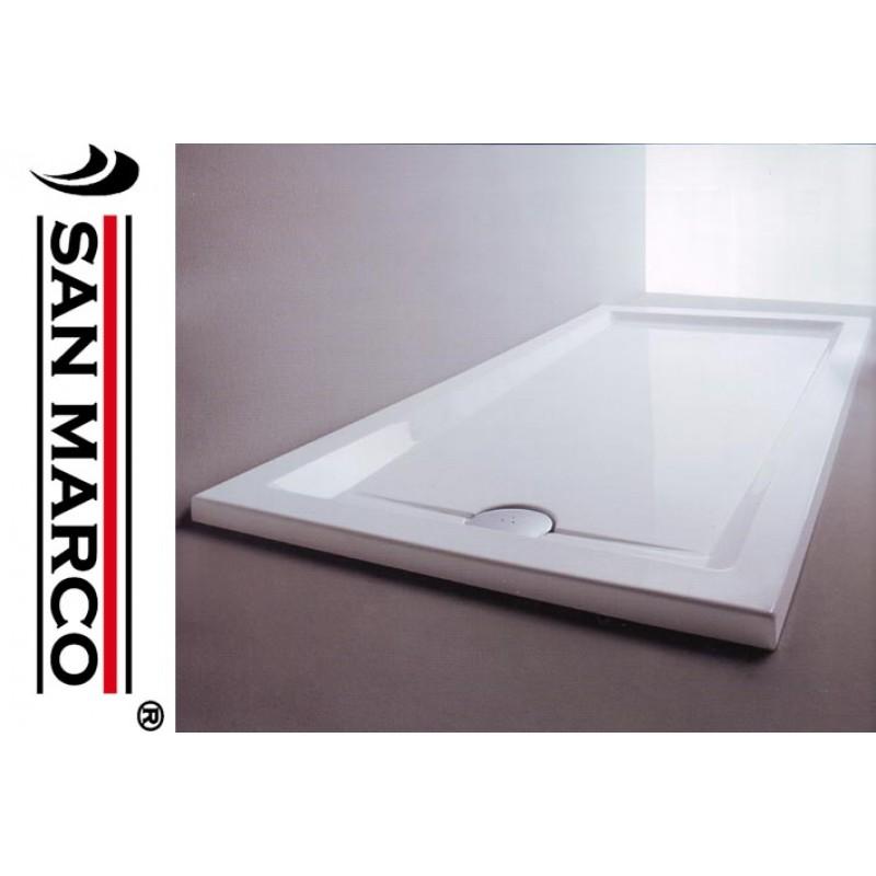 Piatto doccia in resina rettangolare 70x140 san marco - Box doccia resina ...