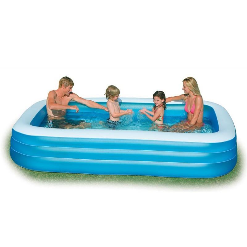 piscina gonfiabile intex per bambini 305x183x56 san marco