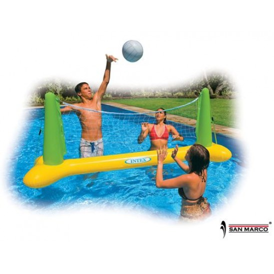 Rete da volleyball gonfiabile per piscina Intex