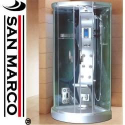 Box doccia idromassaggio con sauna a ozono