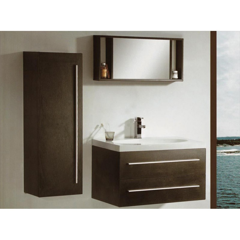 Mobile bagno con lavabo sospeso san marco san marco - Lavabo sospeso con mobile ...