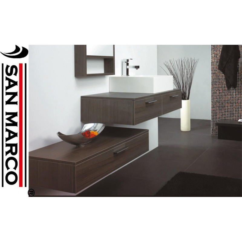 Composizione arredo bagno design san marco for Composizione bagno