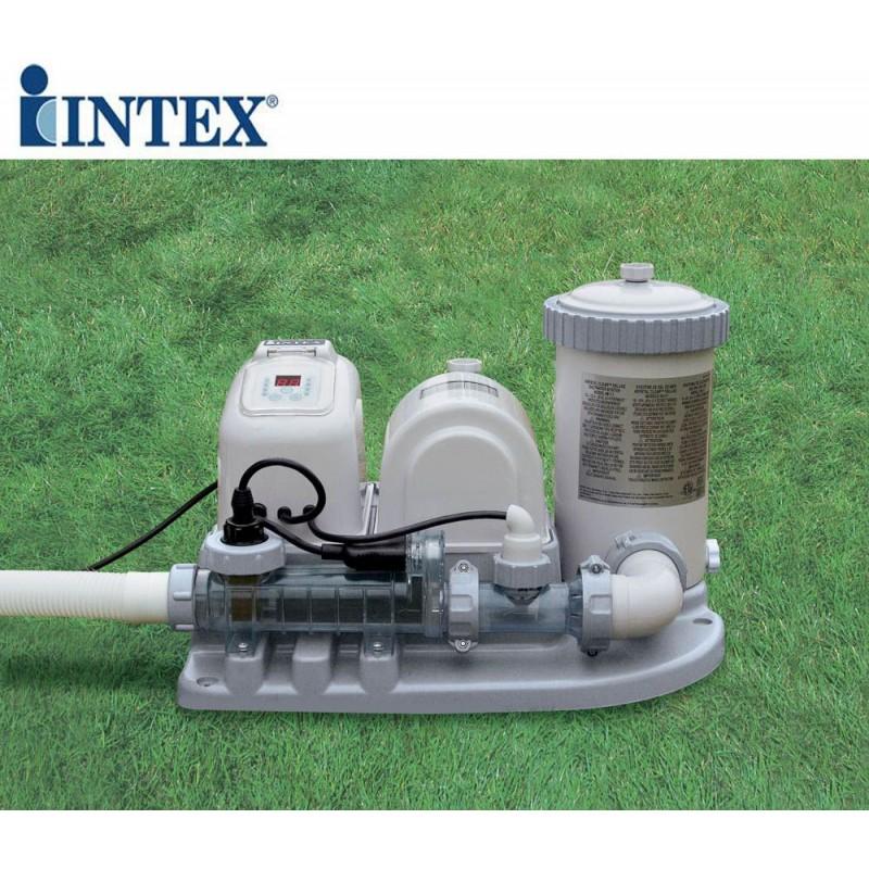Generatore di cloro piscine fuori terra intex san marco for Accessori piscine intex fuori terra