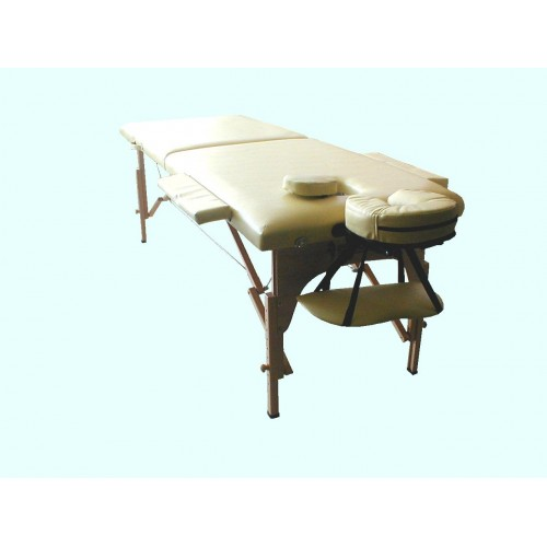 Lettino massaggio 2 sezioni Letto per Massaggi DUE sezione TESSUTO IN ECOPELLE