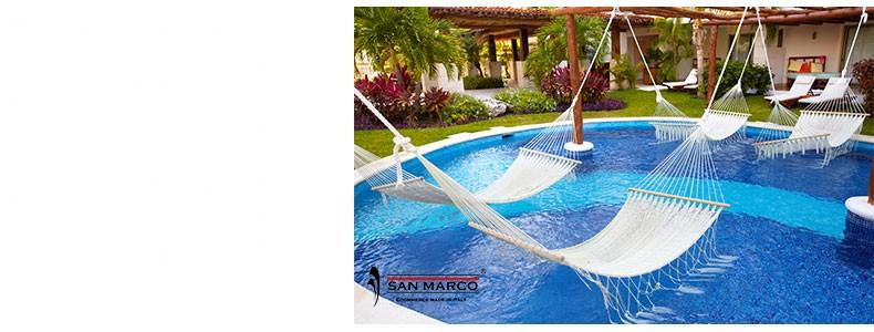 Relax totale con una piscina interrata GRE a partire da 599€