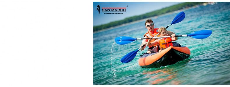 Kayak, canotti, Sup e gommoni: vivi l'estate!