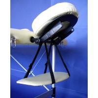 Lettino da massaggio in alluminio a 3 zone