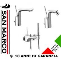 Set rubinetti per lavabo, bidet e vasca con doccia Effepi Rubinetterie