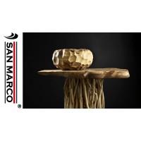 Top per lavabo bagno in legno teak Cipì