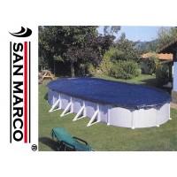 Telo Gre copertura invernale piscine ovali 915x470 cm