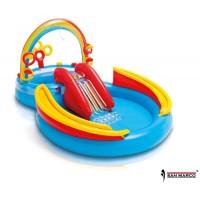 Gioco gonfiabile Rainbow Ring Play Center Intex