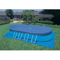 Telo di copertura per piscine ovali da 550x305 cm