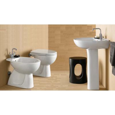 Set sanitari bagno da appoggio pozzi ginori colibr 02 kit - Set sanitari bagno ...