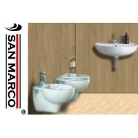 Sanitari bagno sospesi e lavabo Pozzi Ginori Colibrì