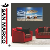 """Quadro moderno in stampa digitale su tela """"Time to Relax"""""""