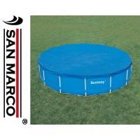Telo di copertura per piscine rotonde Bestway da 457 cm